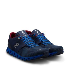 tenis-on-running-cloud-x-masculino-azul-frontal