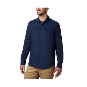 camisa-columbia-silver-ridge-masculina-marinho-frontal_2_1_1